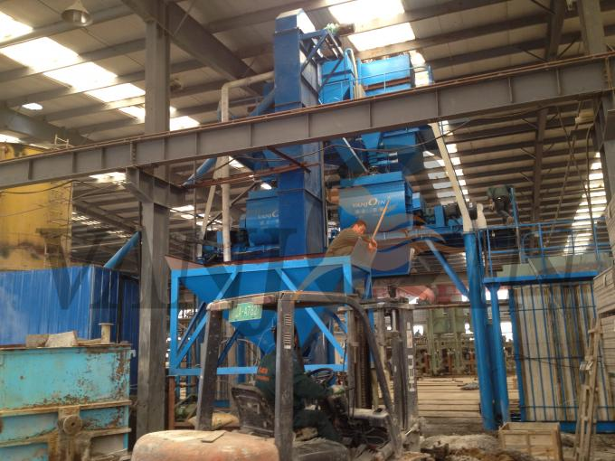 Engineers Installation Vertical Mould Car Sandwich Panel Production Line Machinery
