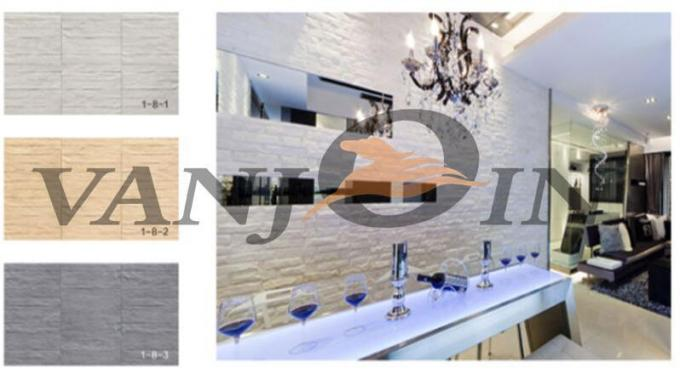 Anti - crack Soft Flexible Ceramic Tile For Villa Prefabricated House Wall