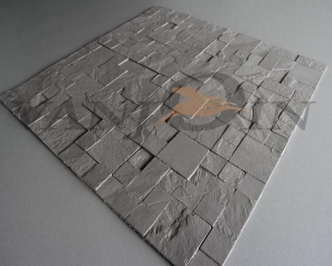 Lightweight Clay Wall Tile , Breathable Soft Ceramic Wall Tile Anti - crack