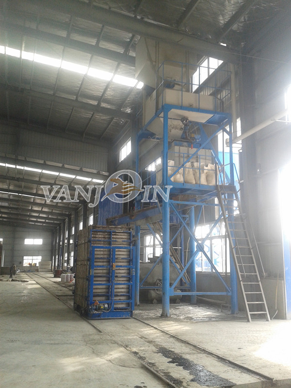 Precast Lightweight Wall Panel Machine / Sandwich Panel Making Equipment