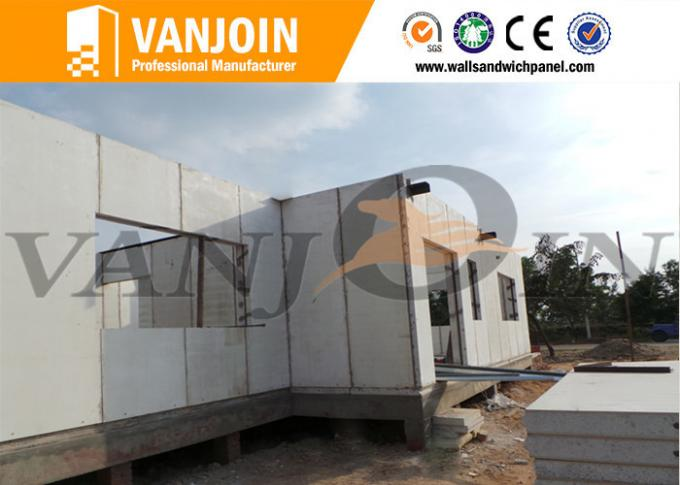 Fireproof Insulated Building Panels For Exterior Wall / Roof / Floor