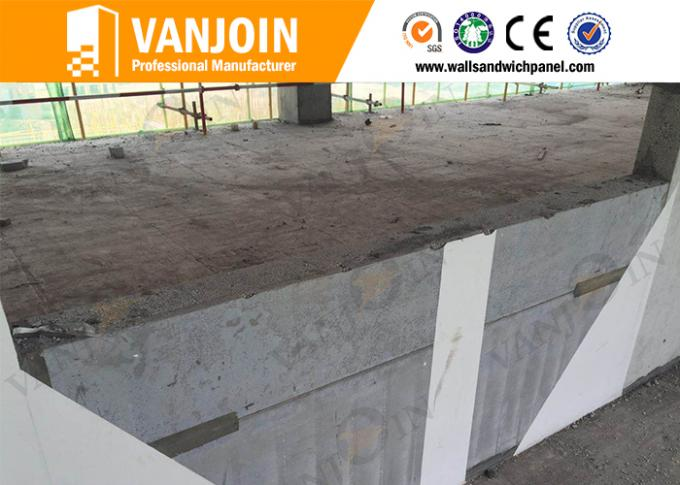 Prefabricated Precast EPS Cement Sandwich Panel Styrofoam Lightweight