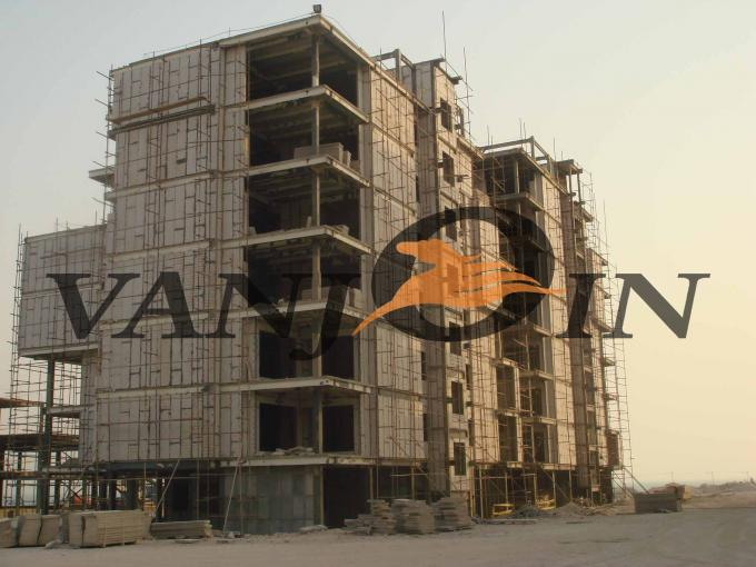 Insulated Precast Concrete EPS Sandwich Panels , Fireproof  Buildling Panels