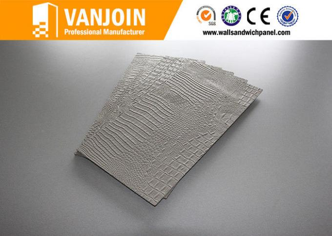 Insulated light weight flexible decorative crocodile skin wall tile ceramic
