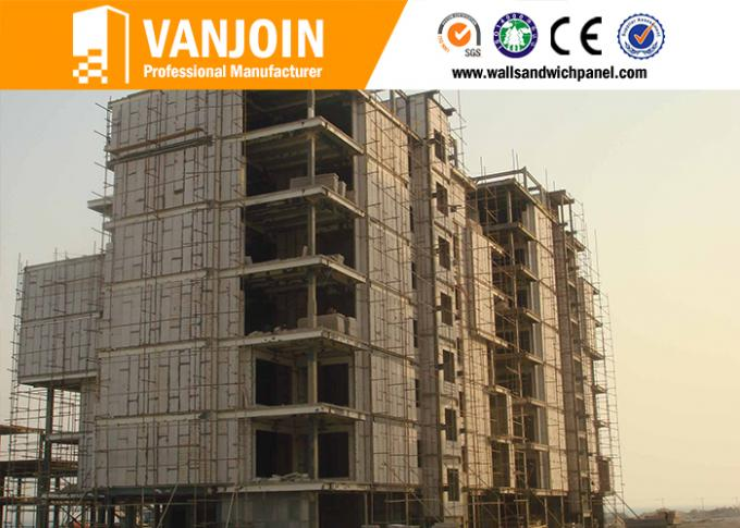 Lightweight Composite Panel Board , fireproof cement board Thermal Insulated