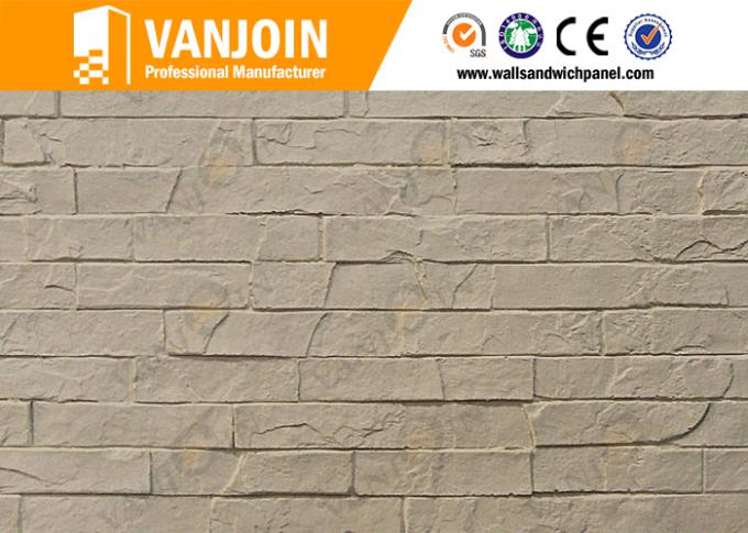 Anti Crack Breathable Internal Wall soft stone tiles For Office Walls