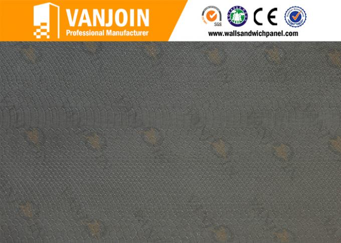 Energy Saving Flexible Ceramic Tiles With Modified Mineral Powder Material , Level A1