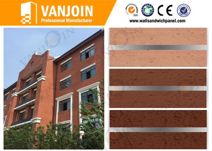 High Safety Composite Insulated Panels 1200*600MM , waterproof wall panels Custom Color