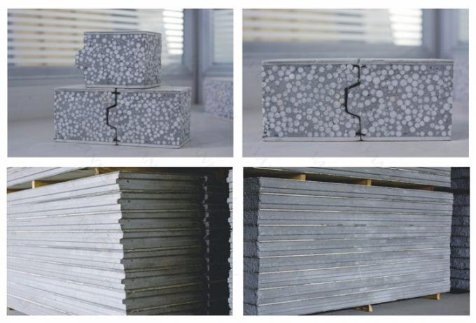 Exterior Insulated Eps Cement Sandwich Panel For