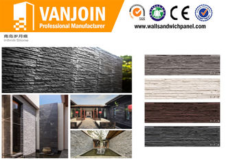 China Soft and Lightweight safety Exterior Decorative Stone Tile 50 Years Lifespan supplier