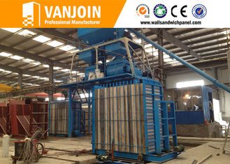 China Fast Construction Professional Cement Sandwich Wall Panel Machine supplier