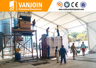 China Low Cost Concrete Fast Insuallation Partition Wall Board Making Machine supplier