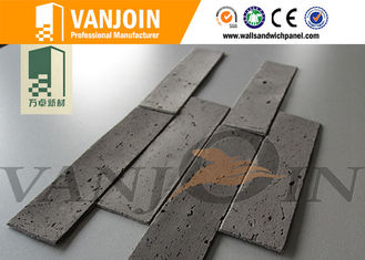 China Light  Weight Rustic Style Flexible Ceramic Tiles , Flexible Split Brick supplier