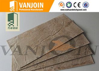 China Weather Resistant Level A Fire Proofing Flexible Wall Tiles 1.5 - 3.5mm Thickness supplier