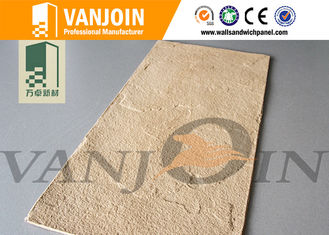 China Anti - crack Soft Flexible Ceramic Tile For Villa Prefabricated House Wall supplier