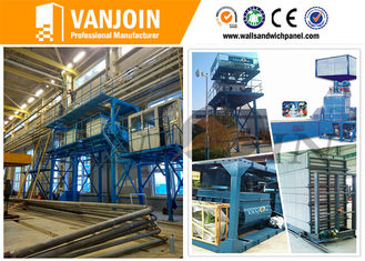 China Lightweight Wall Panel Machine With Scientific Computer Control supplier