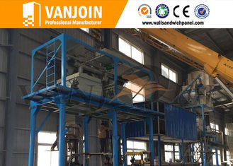 China Precast Lightweight Wall Panel Machine / Sandwich Panel Making Equipment supplier