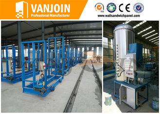 China exterior eps sandwich panel production line , lightweight wall panel machine supplier