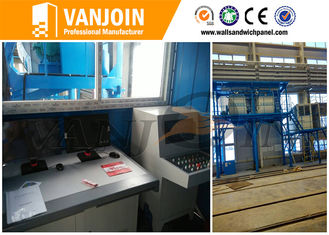 China Full Automatic Sandwich Panel Production Line EPS Cement Panel Making Machines supplier