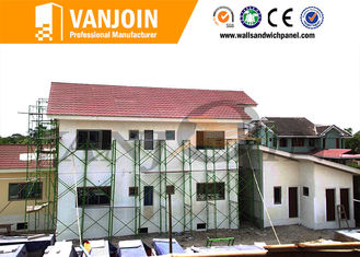 China Fireproof Eps Sandwich Panel Modern Prefab Houses building Material Durable Fast Construction supplier