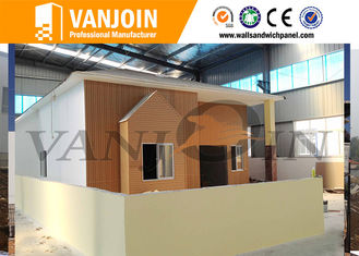 China Anti - earthquake Modern Prefab Houses Fast Construction Modular Steel Structure Villa Houses supplier