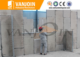 China Environmental Installation Accessories Cement Mortar For Lightweight Sandwich Wall Panel Connection supplier