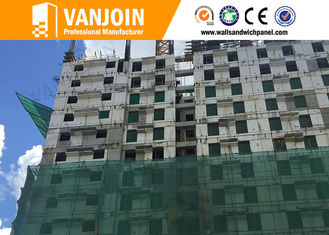 China Prefabricated House Villa EPS Sandwich Wall Panel for Interior Wall supplier