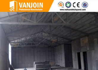 China High rise concrete / steel structure insulated building panels Heat Resistance supplier