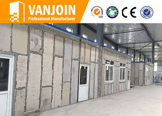 China Construction 90mm 120mm eps cement sandwich wall panel for prefab house building supplier