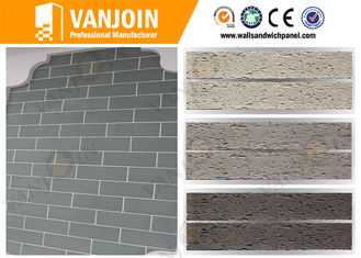 China Waterproof Flexible 600x300 Outdoor Decorative Stone Tiles For Public Buildings supplier