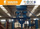 China Lightweight full automatic construction material making machinery for cement sandwich panel supplier