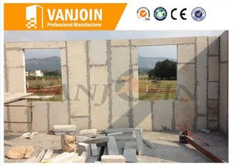 China 100mm Lightweight EPS foam concrete wall panels , Exterior / Interior insulated building panels supplier