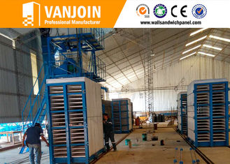 China Full automatic low energy cost fast precast sandwich concrete wall machine supplier