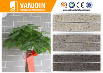China Anti Crack Breathable Internal Wall soft stone tiles For Office Walls supplier