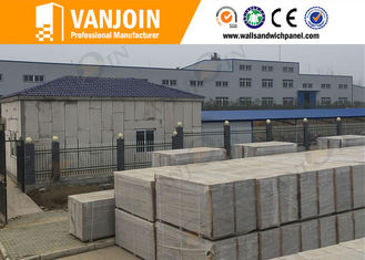 China Office Partition Polystyrene Building Panels /Insulated Wall Panels Water Proof supplier