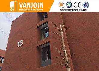 China Fireproof Flexible Ceramic Tile For Prefab House / Villa Home , Precast Wall Panels supplier