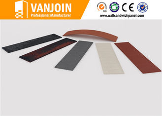 China High Safety Recyclable Flexible Wall Tiles 3Mm Fireproof Thin 240 x 60mm supplier