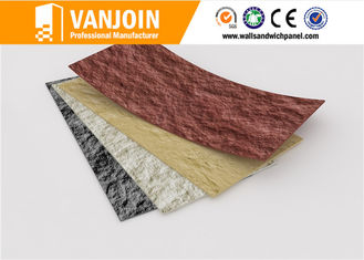 China Outdoor And Indoor Flexible Clay Composites Brick Effect Wall Tiles 3D Effect Light Weight supplier