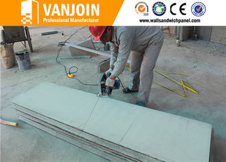 China Buildings Insulated Fiber Eps Cement Sandwich Wall Panel Board Energy Saving supplier