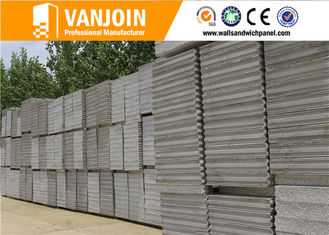 China Thermal Insulation Fireproof Soundproof Wall Sandwich panel For Real Estate Buildings supplier