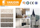 China 80 - 90鈩� High Temperature Resistance Fireproof Lightweight Flexible Wall Tiles For Church Buildings company