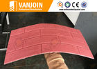 China High Safety Shedding Proof Flexible Ceramic Tile , Exterior Ceramic Wall Tiles factory