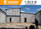 China Interior Wall Materials Lightweight Precast Concrete Panels Fire Resistant factory