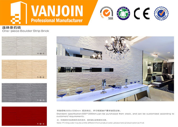 Inside Soft Lightweight Luxury Decorative Stone Tile For villa house