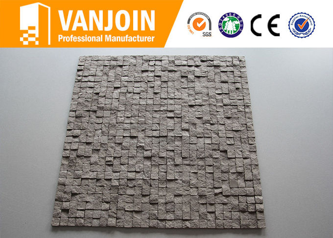 80 - 90℃ High Temperature Resistance Fireproof Lightweight Flexible Wall Tiles For Church Buildings