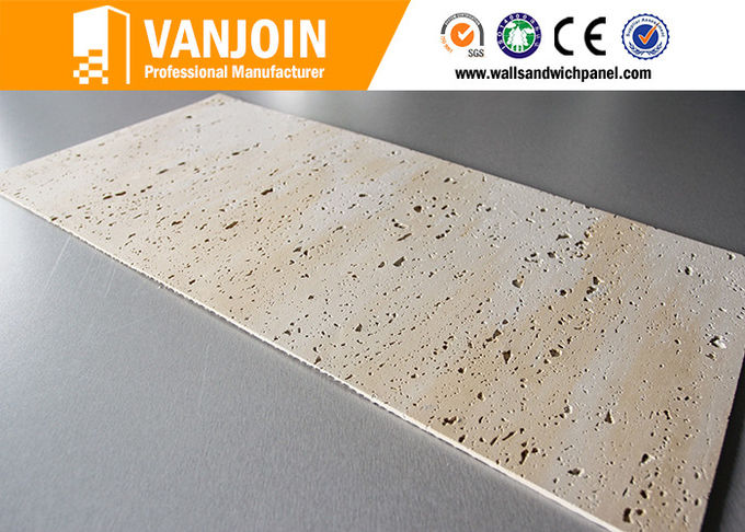 Wall Flexible Ceramic Tile Long Uselife / Soft Brick Wall Panels