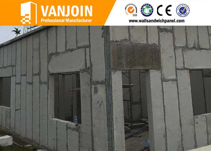 100mm Anti Earthquake Precast Concrete Wall Panels Lightweight