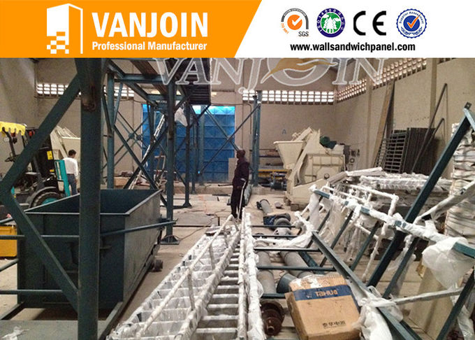 Fast Construction Professional Cement Sandwich Wall Panel Machine