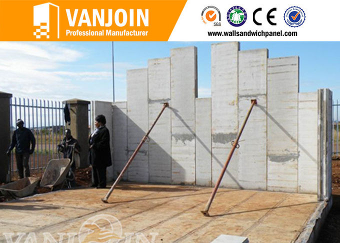 120mm Heat Insulated EPS Precast Concrete Wall Panels Anti Seismic Panels