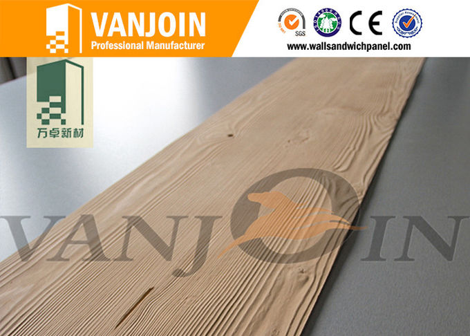 Anti Fungal Fire Retardant Soft Ceramic Tile , Soft Wood Grain Tile